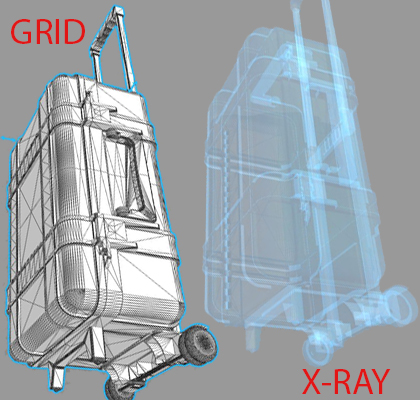 Suit Case x-ray image